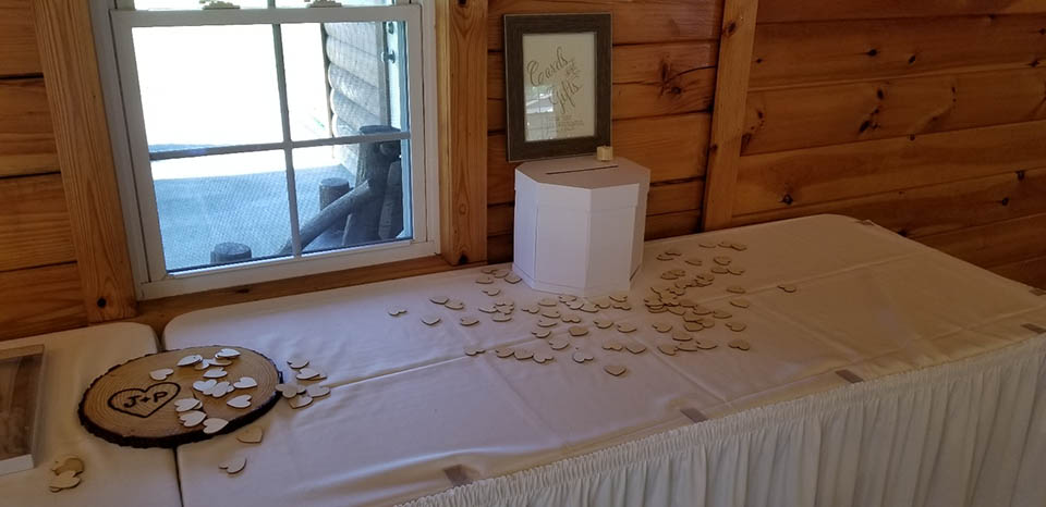 photo of bridal table