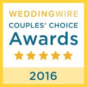 2016 wedding wire couples choice award
