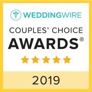 2019 wedding wire couples choice award